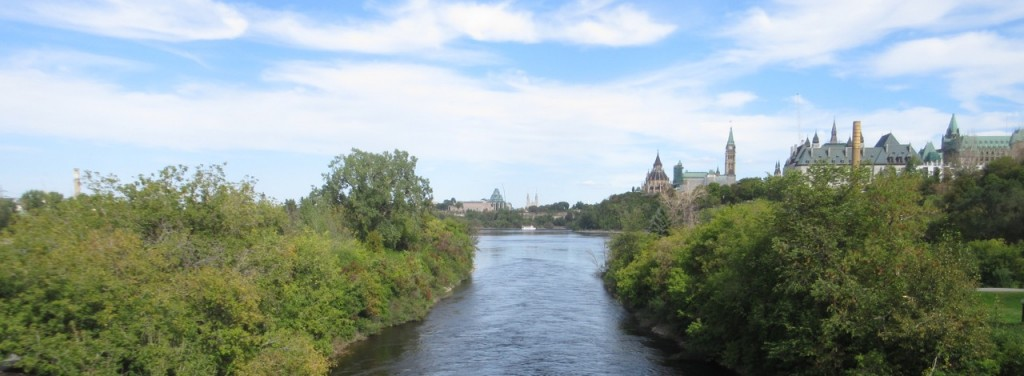 Photo : Freeing Chaudière Falls and its islands